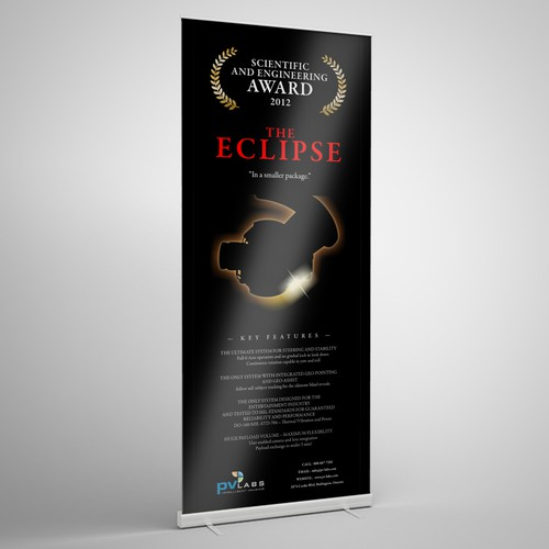 Eclipse Roll-Up Banner