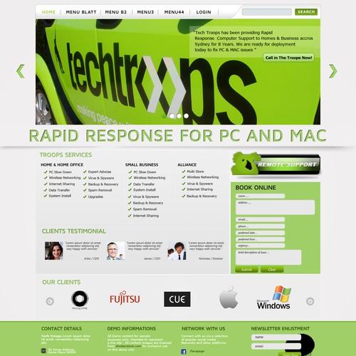 TechTroops seeks GREAT NEW website
