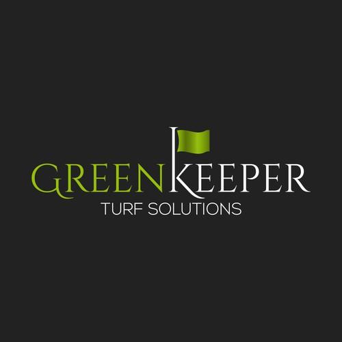 Logo Design for GreenKeeper Turf Solutions