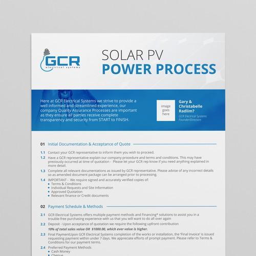 Solar company white paper