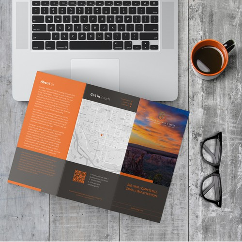 Flat Simple Tri-fold Brochure Concept for STLAGJ