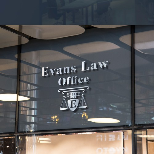 Logo for a lawyer.