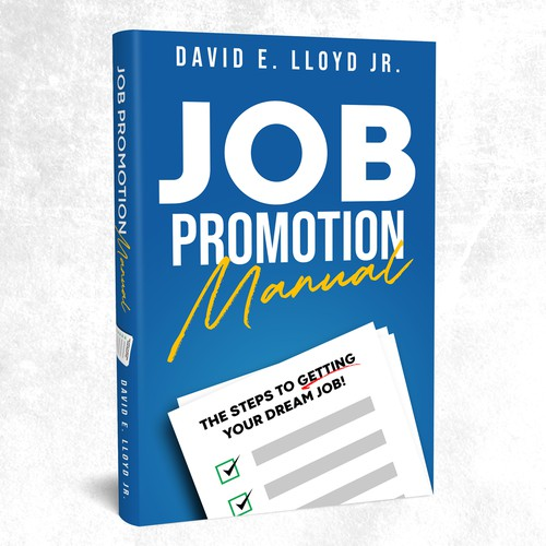 Simple book cover about Job hunting