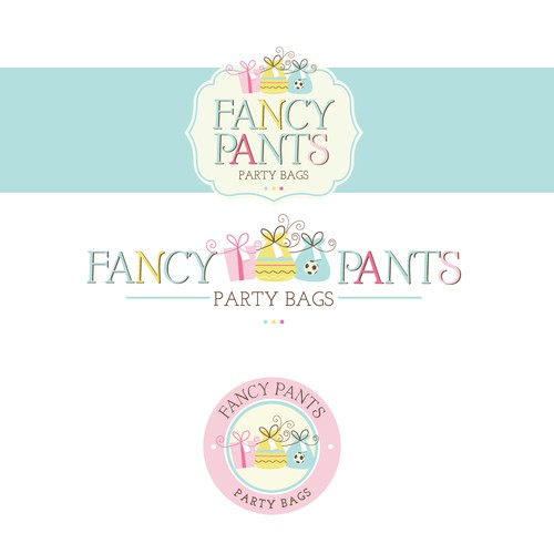 Logo for Fancy Pants Party Bags