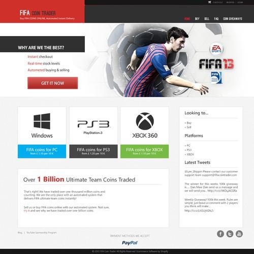 FIFACoins.co seeks a UX guru