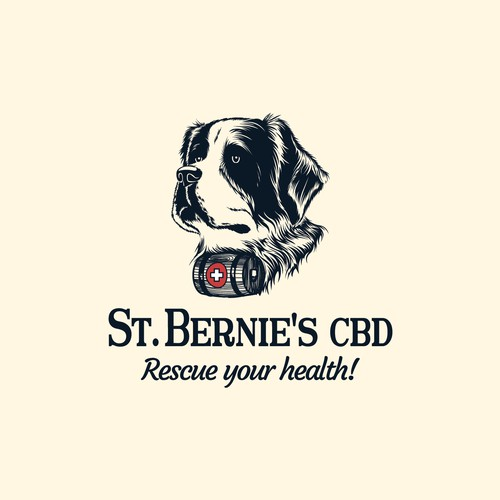 St. Bernie's dog comes to rescue your health