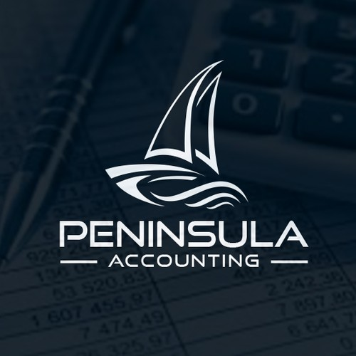 elegant logo for accounting firm