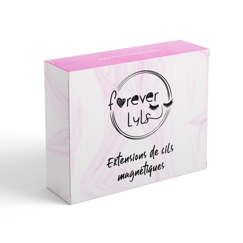 Lashes box Packaging