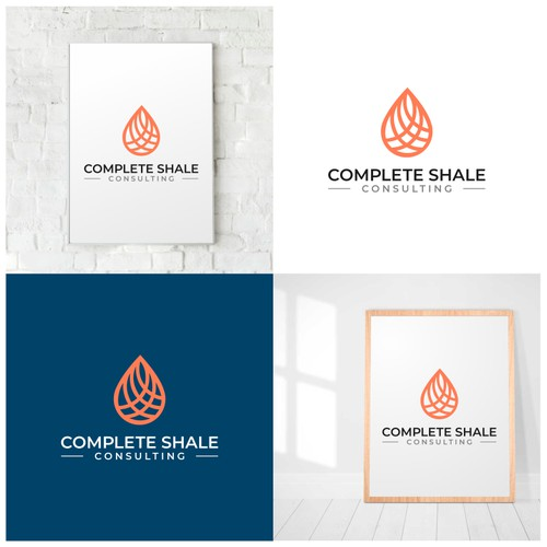 Complete Shale Consulting Logo Design