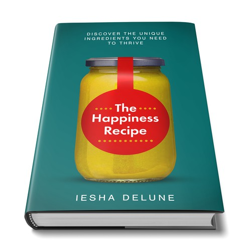 Happiness Recipe Book Cover Idea