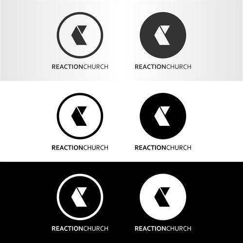 logo concept for Reaction Church