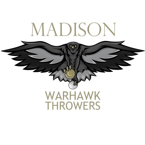Create a winning logo for the Madison Warhawk Throwers!