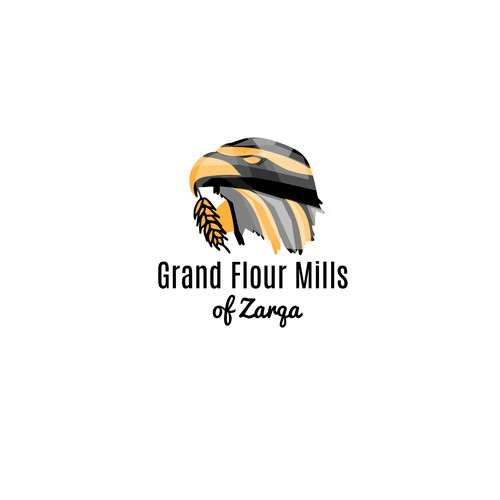 Flour Mill logo for Egyptian firm.