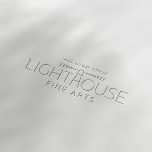 Logo and Social Media Package for Lighthouse Fine Arts