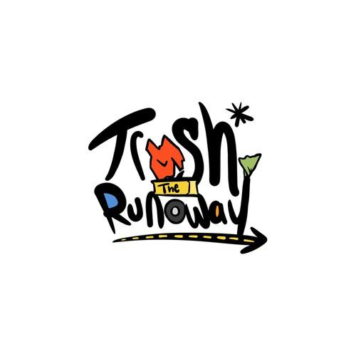 Trash the Runway logo