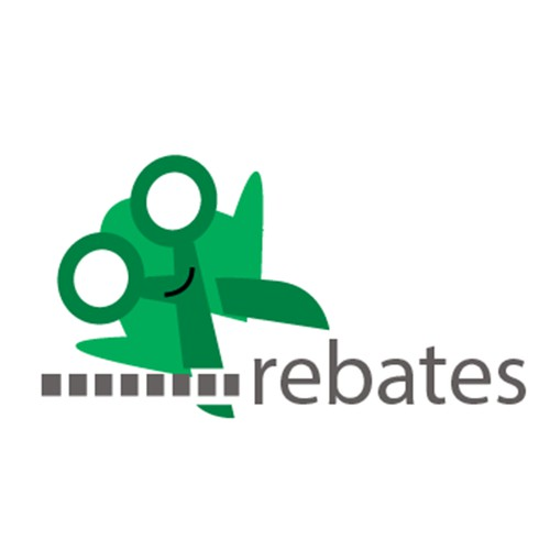 A logo for a coupons company