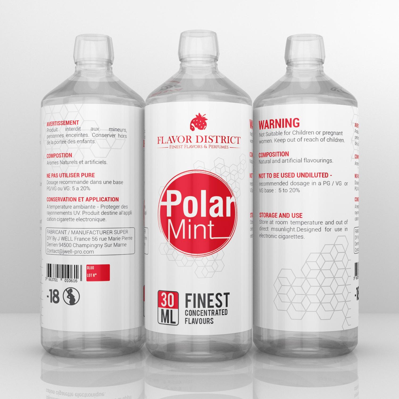 Label for cylinder bottle 15cmx10cm