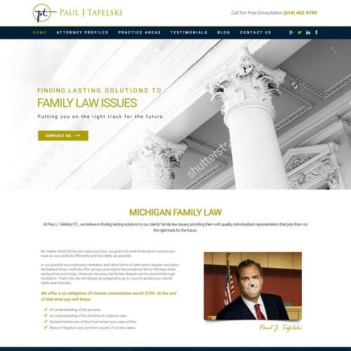 Landing Page - Paul J. Tafelski. P.C.