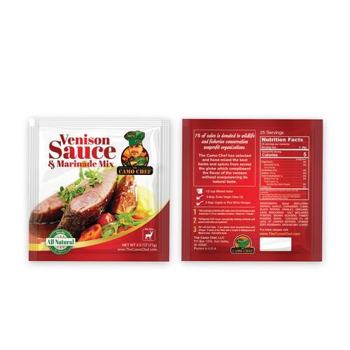 Venison Sauce & Marinade Mix