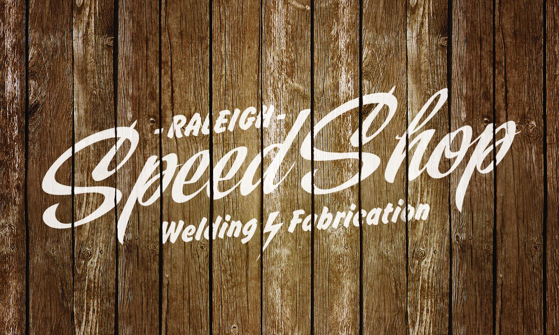 Raleigh Speed Shop - Create the logo for major national marketing campaign.