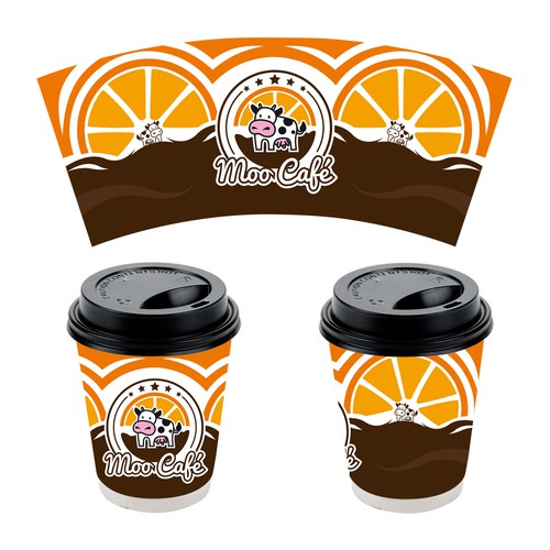 Moo Cafe Design Cup