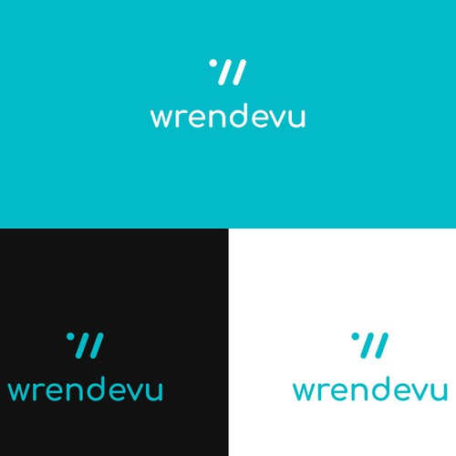 Wrendevu - Logo for a application connecting people