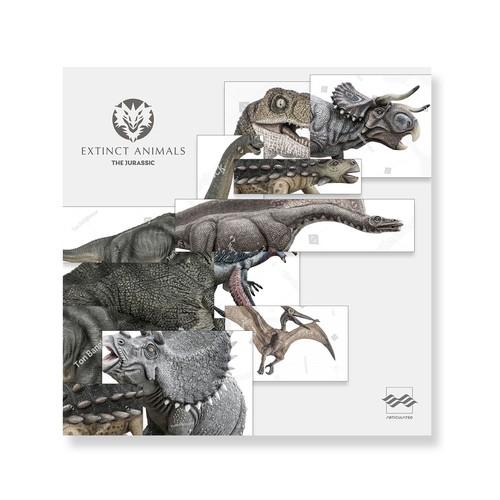 专辑封面艺术:灭绝的动物