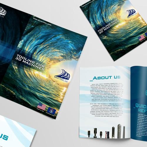Brochure Concept Art.