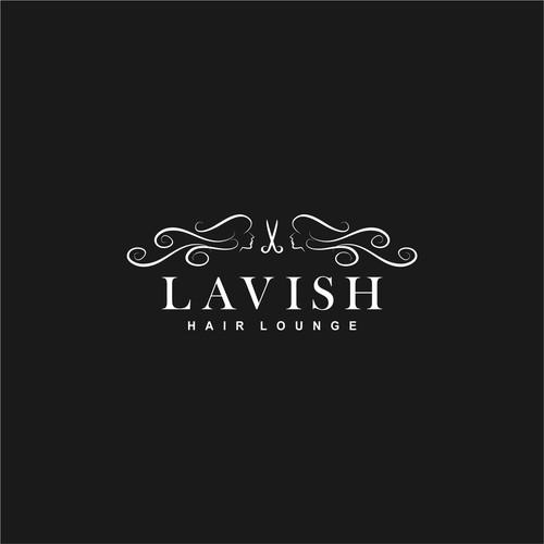 luxury logo design for LAVISH