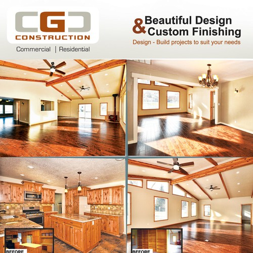 CGC Construction needs a new postcard or flyer