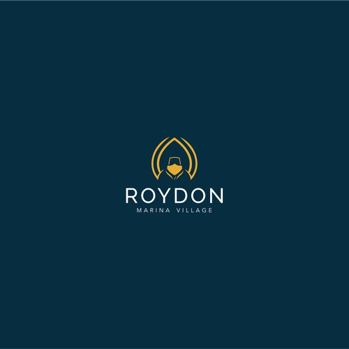 Luxury logo concept for Roydon