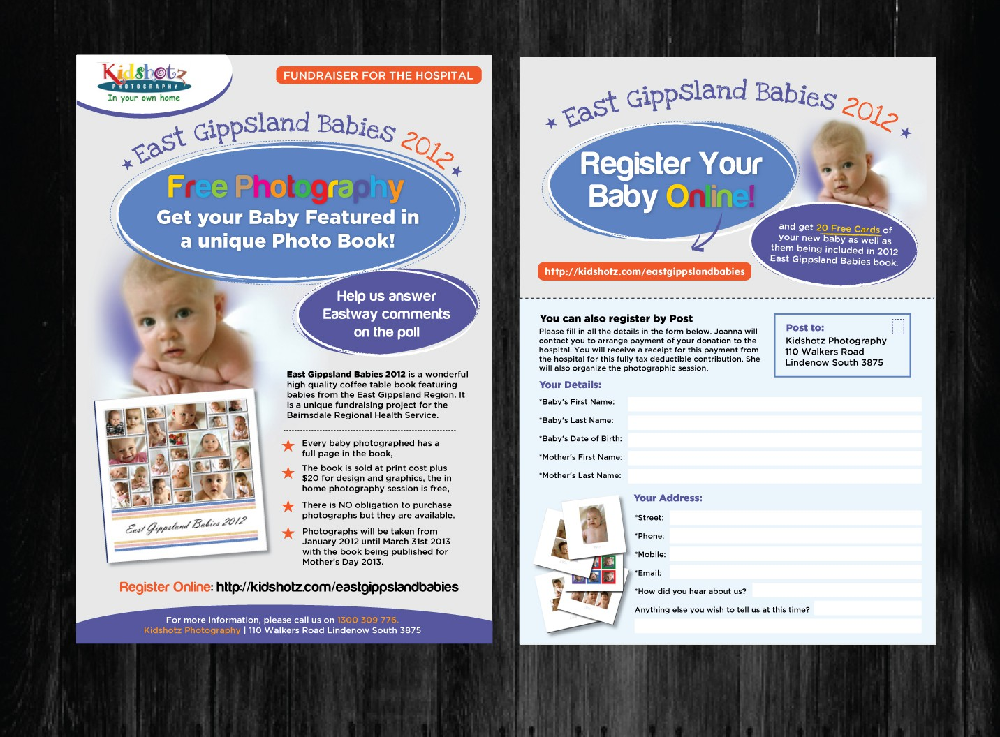 Help Kidshotz Photography with a new print or packaging design