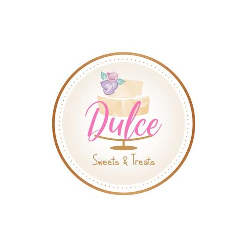 Propuesta en concurso de Logotipos para Pasteleria