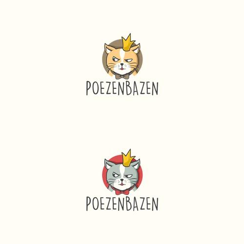 Poezenbazen Logo Design Contest Entry