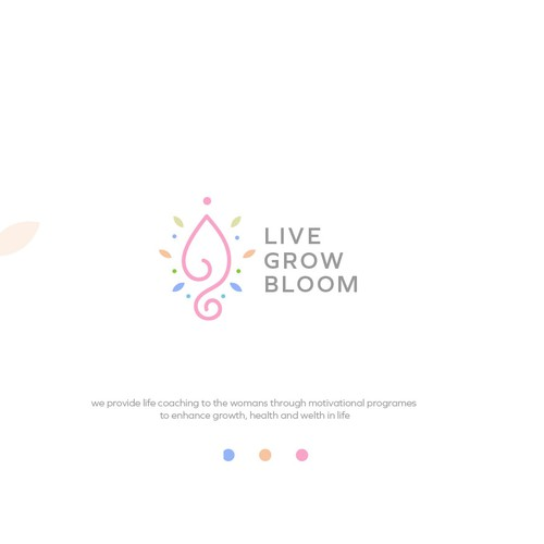 wellness logo design concept