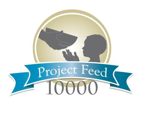 Create the next logo for Project Feed 10,000