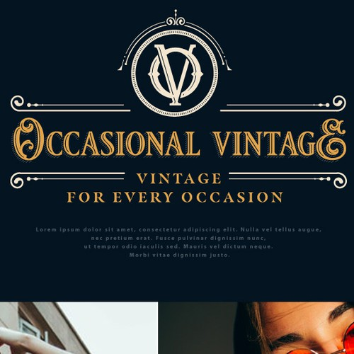 Logo for Occasional Vintage