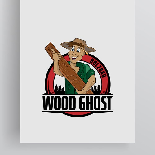 Wood Ghost logo