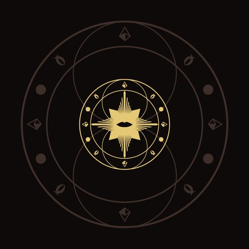 Mystic, sacred geometry logo