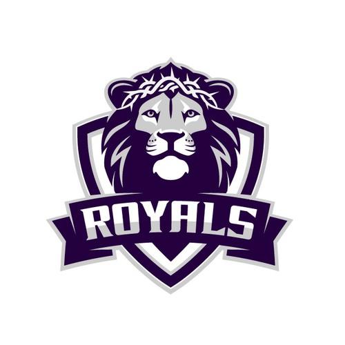 Lion Sport Logo for a Chritstian school