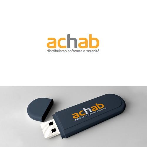 Achab Logo