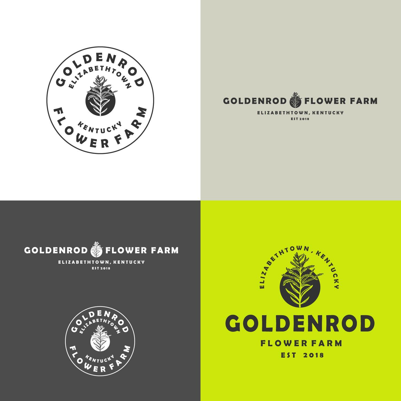 Fresh cut flower farm needs a masculine logo