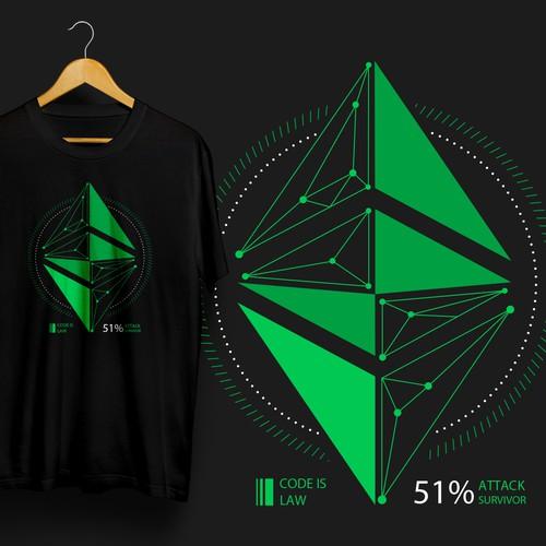 T-shirt Design for Ethereum Classic