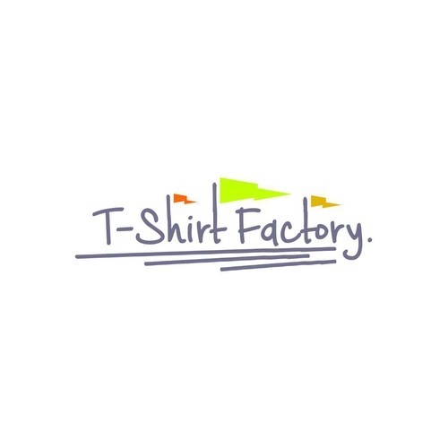 logo concept for T-shirt Factory