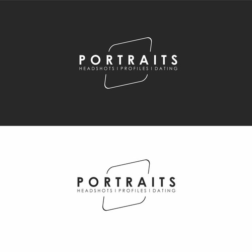 hipster logo for PORTRAITS