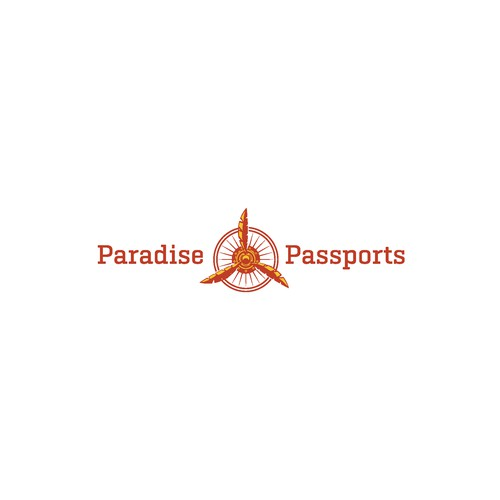 logo conceps for Paradise passport