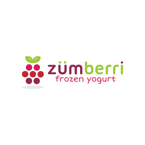 Logo design for Zumberri Frozen Yogurt.