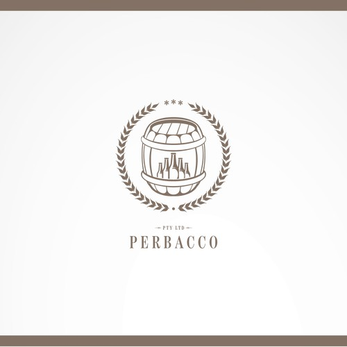 Create a capturing LOGO for wine maker/distributor