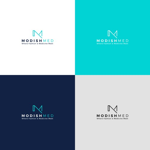 Simple initial based design for Medical Company