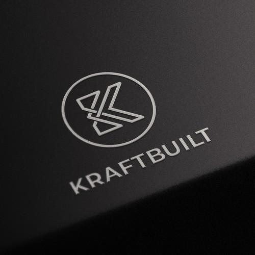 Monogram logo design for architect
